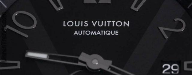 Louis Vuitton Tambour Alle Schwarz Petite Seconde Uhr Hands-On