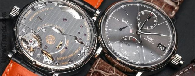 IWC Portofino Hand-Wound Monopusher Chronograph Uhr Hands-On