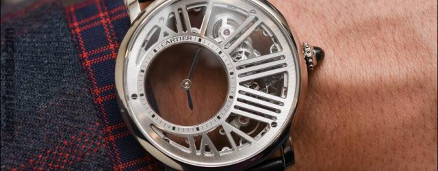 Cartier Rotonde De Cartier Geheimnisvolle Stunde Skeleton Watch Hands-On