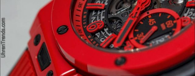 Hublot Big Bang UNICO Red Magic Keramik Uhr Hands-On