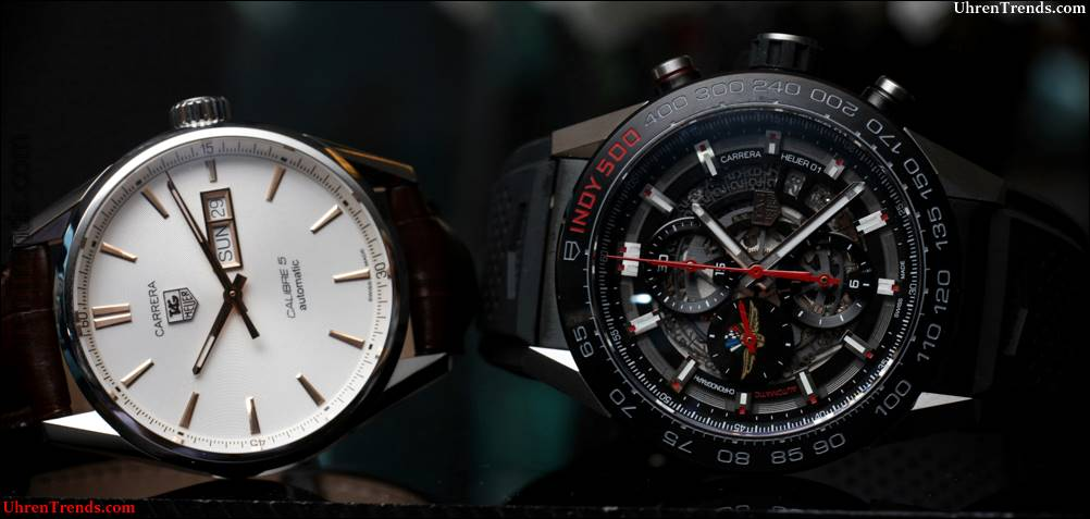CHASING TIME: TAG Heuer bei Indy 500 Race Video und Carrera Watch Winner Follow-Up