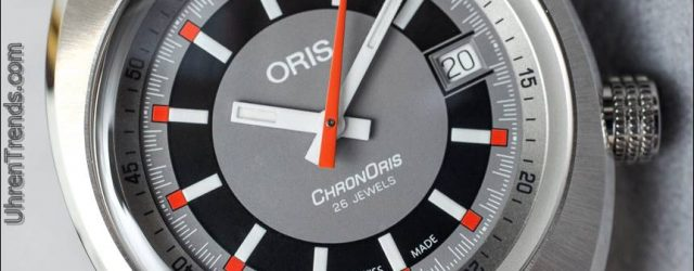 Oris Chronoris Date Uhr Hands-On