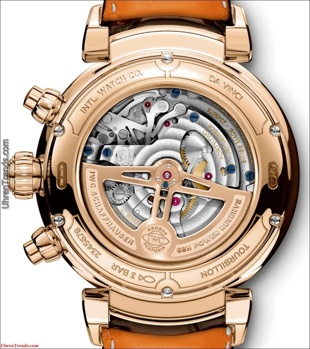 IWC Da Vinci Chronograph und Da Vinci Tourbillon Rétrograde Chronograph Uhren