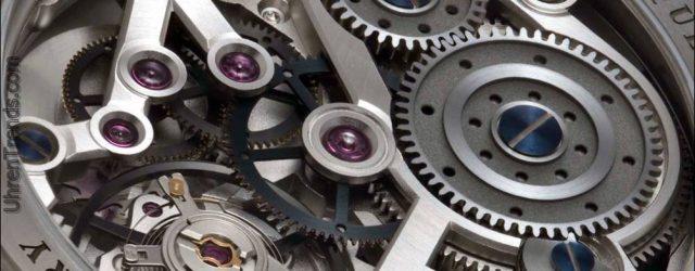 Molnar Fabry Zeitmaschine Regulator 911 Uhr