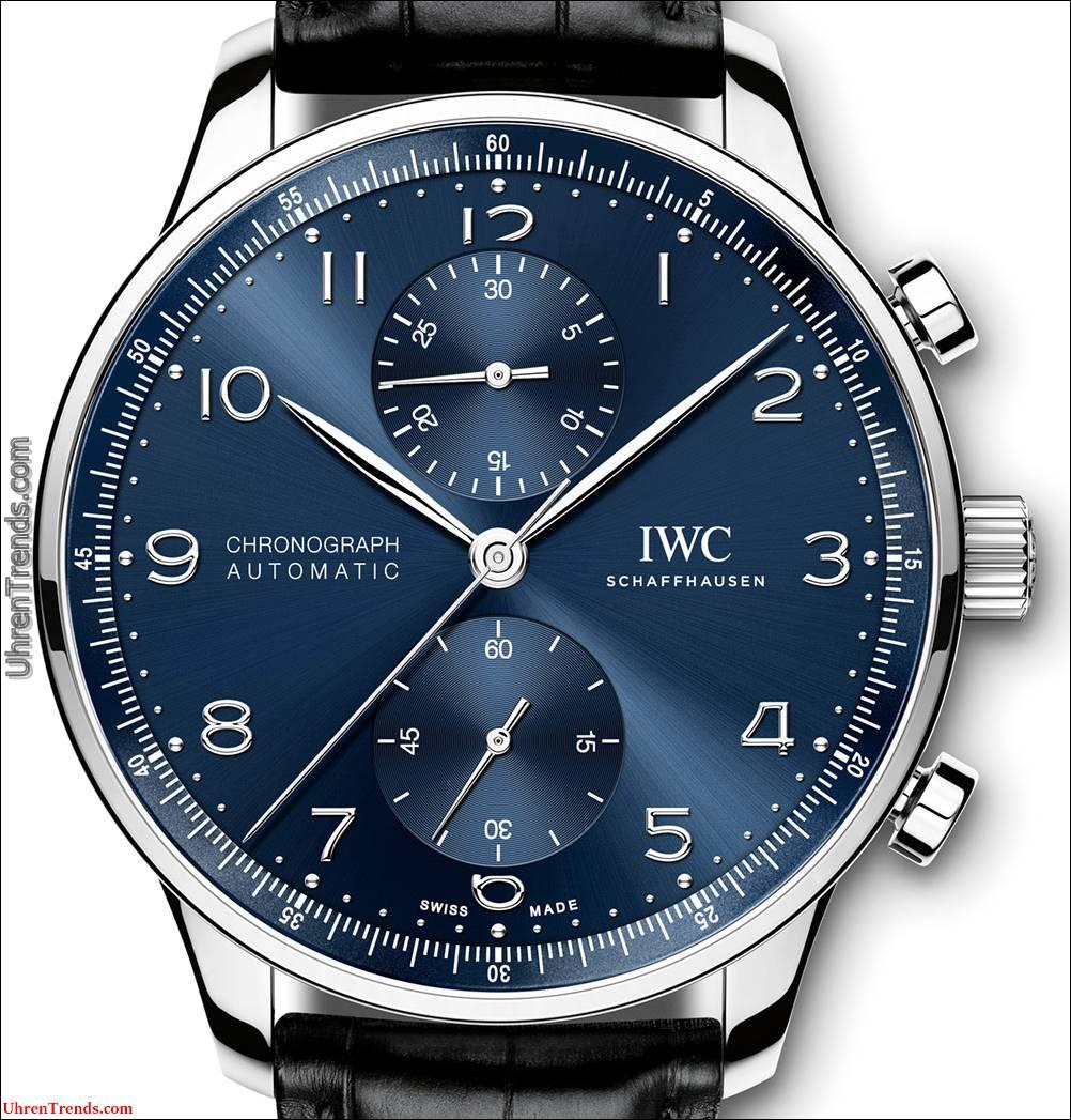 IWC Portugieser Blue Dial Uhren
