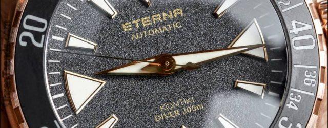 Eterna KonTiki Manufaktur Bronze Taucheruhr Hands-On