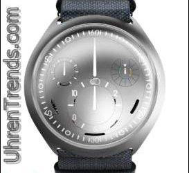 E-Crown-System, das elektronisch die Zeit in einer mechanischen Uhr einstellt