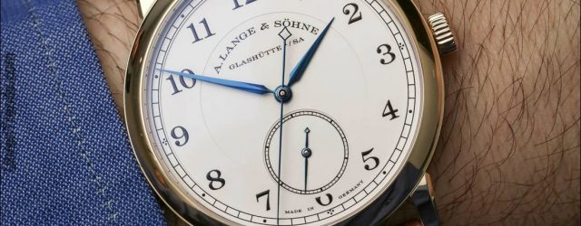"A. Lange & Söhne 1815 ""Hommage an Walter Lange"" Watch Hands-On"