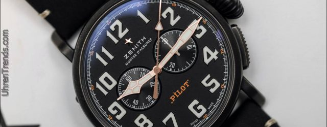 Zenith Pilot Typ 20 Ton-Up Schwarz Chronograph Hands-On