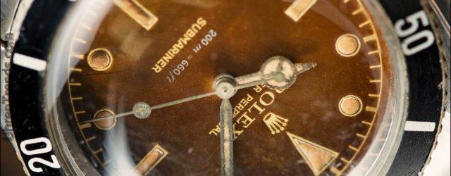 Rolex Submariner 'Big Crown' Tropisches Zifferblatt  6538 Uhr mit langer Geschichte (und James Bond 007 Verbindung)