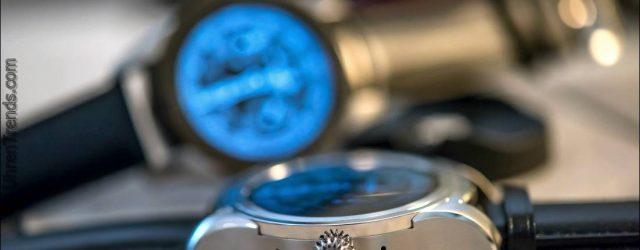 Montblanc Summit Smartwatch zum Anfassen